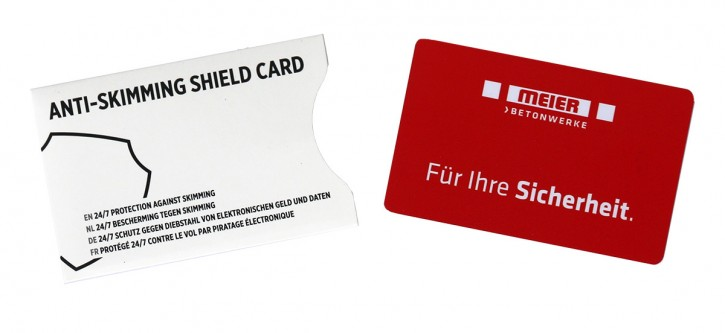 RFID Anti-Skimming Karte